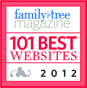 Genealogy Gems Honored to Make the 101 Best Websites List