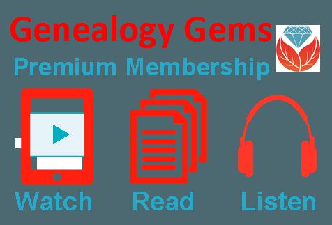 Genealogy Gems Premium Membership