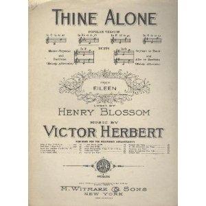 Thine Alone Sheet Music