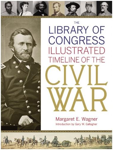 Illustrated Timeline of the Civil War book cover