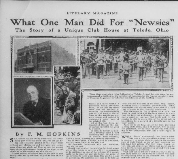 Newsies article