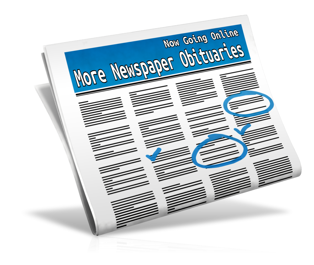 Obituaries in Newspapers are Going Online