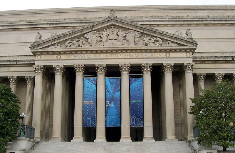 National Archives Facilities Closing