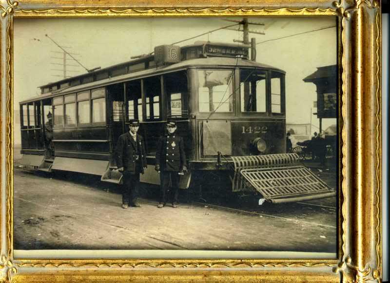 San Francisco Street Car Great Grandpa Burkett Family History