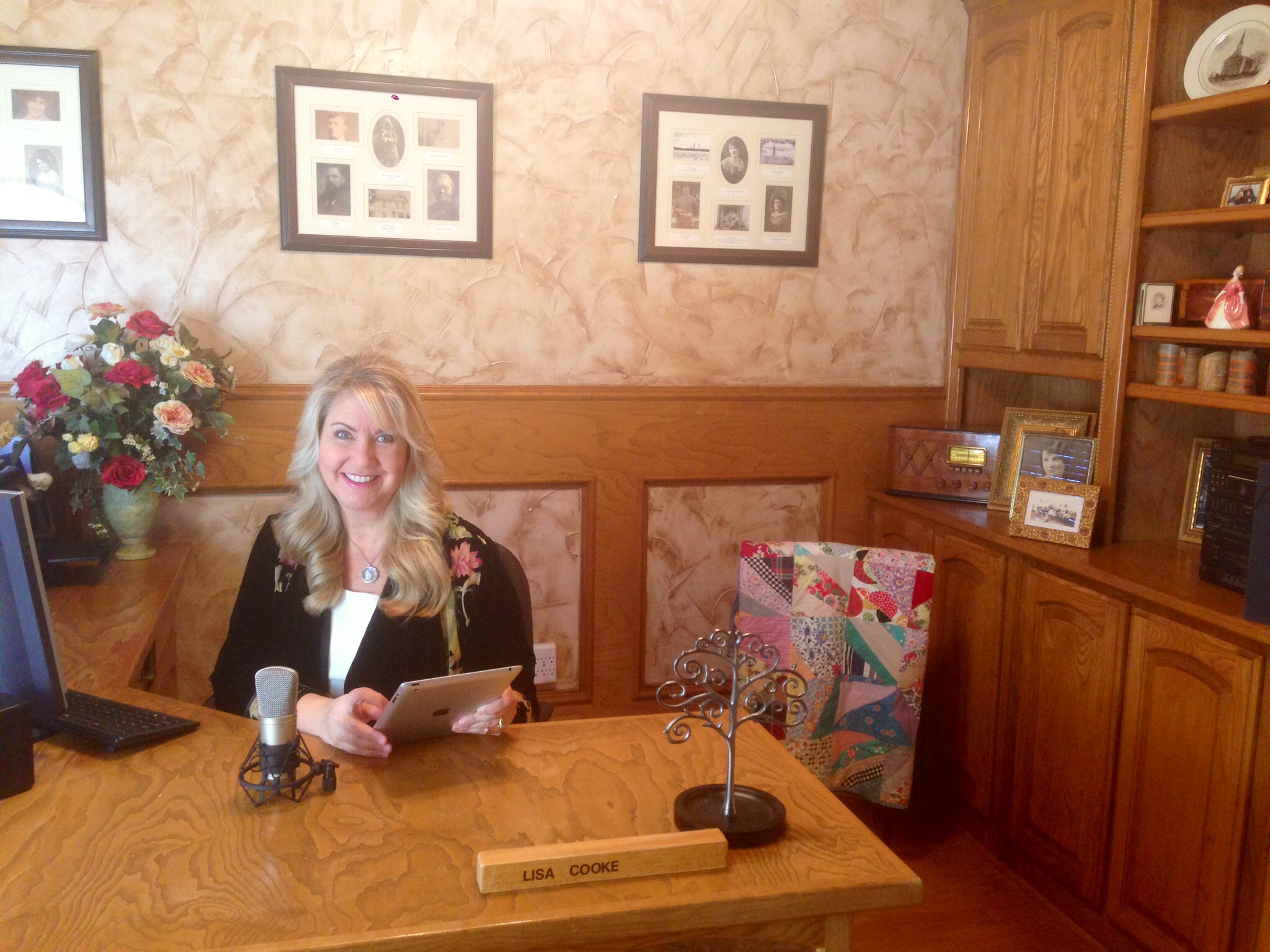 Organize Your Genealogy: Sneak a Peek Inside Lisa's Office