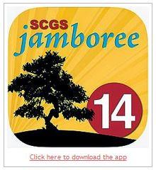 SCGS Jamboree 2014 app