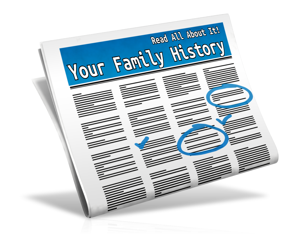 How to Find Your Family History in Newspapers: FREE 2-part Podcast