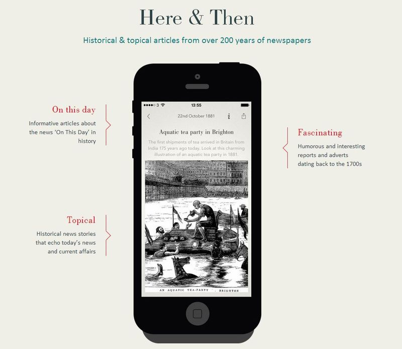 Here & Then Mobile App for Genealogy