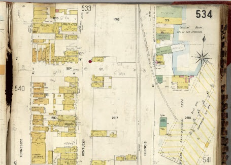 Sanborn Fire Insurance Map for Genealogy