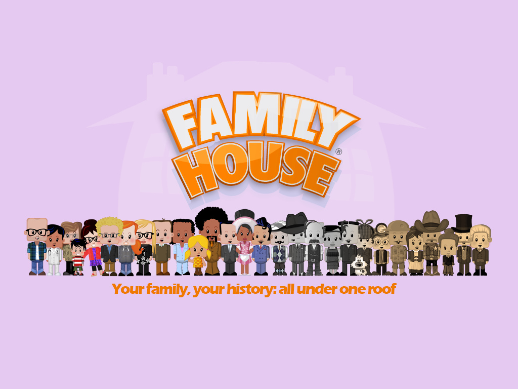 Genealogy Game 'Family House' now an iPad / iPhone App