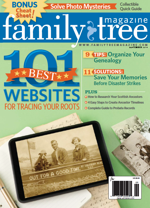 Evernote Web Clipper and Much More in Family Tree Magazine (September 2014)
