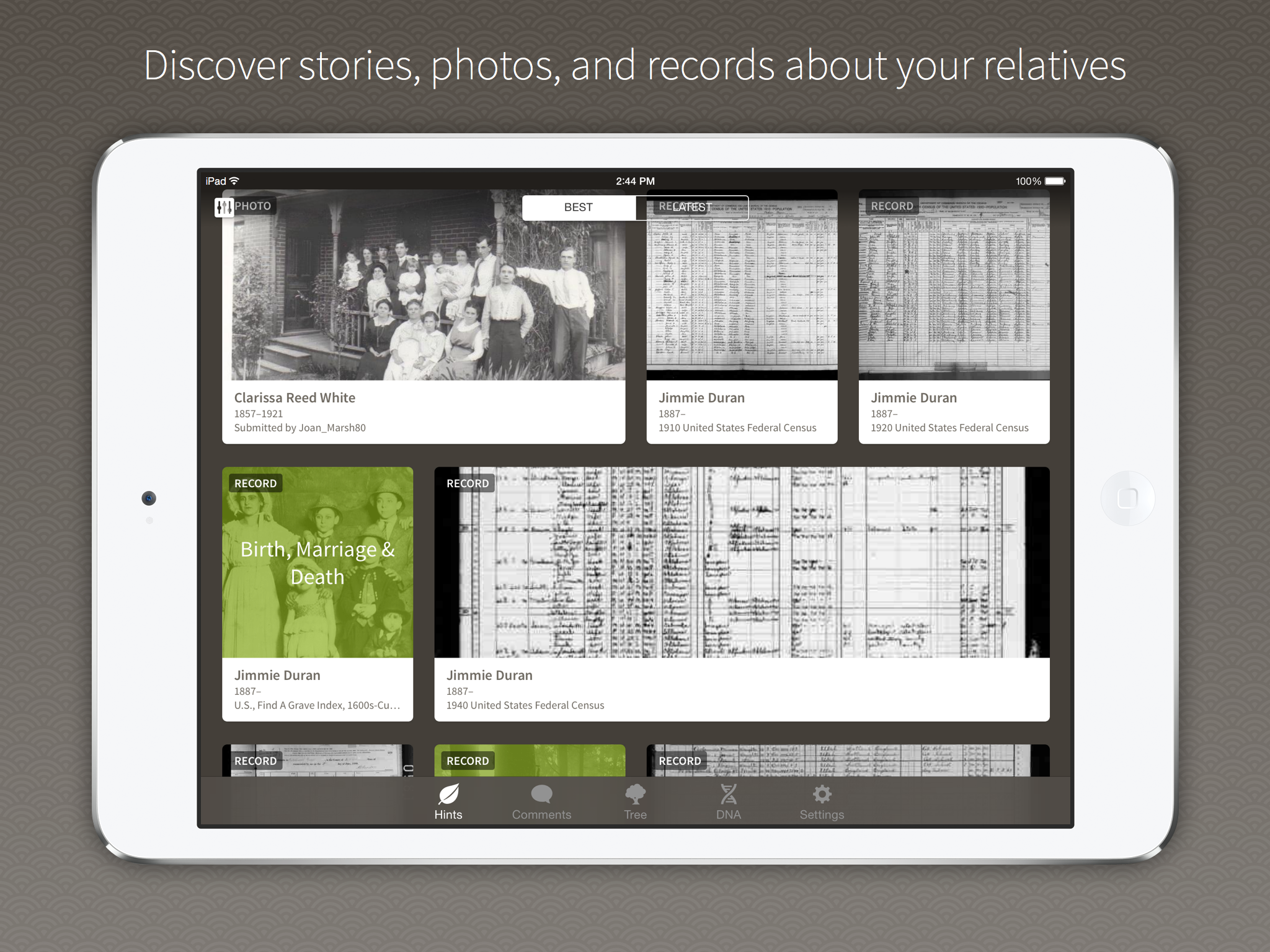 """Ancestry App Launches With """"Solid New Features"""""""