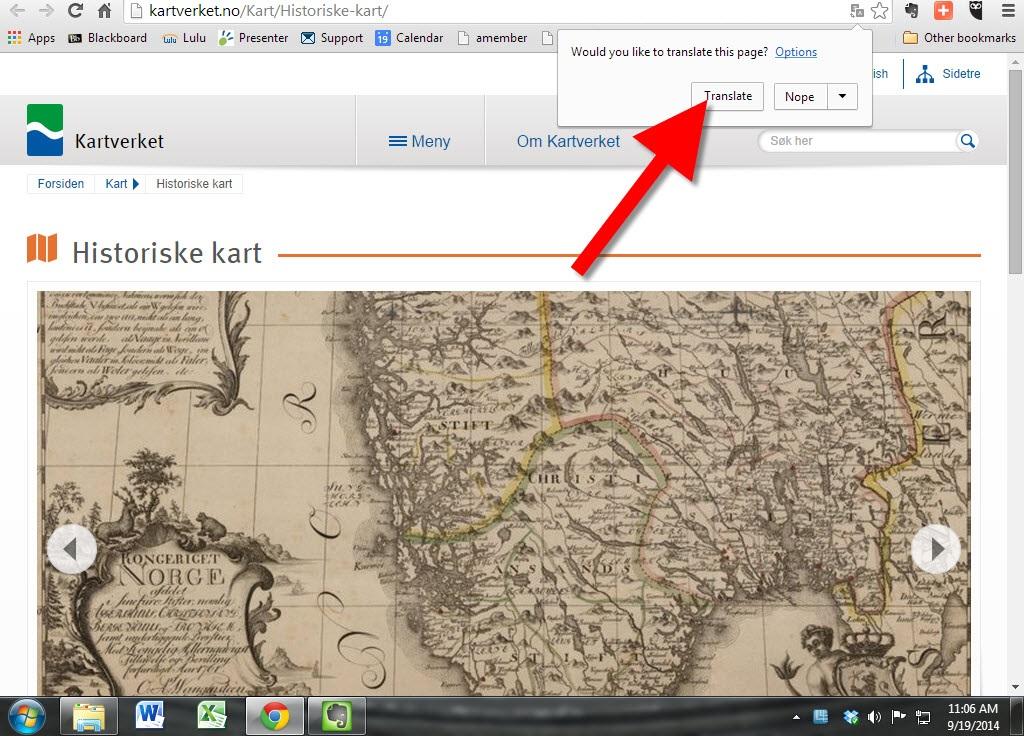 Historical Norwegian Maps Online: Great Genealogy Resource!