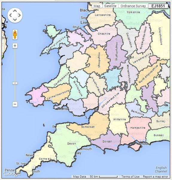 English Parish Boundaries: A Little-Known Online Tool