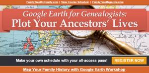 Google Earth for Genealogy Workshop