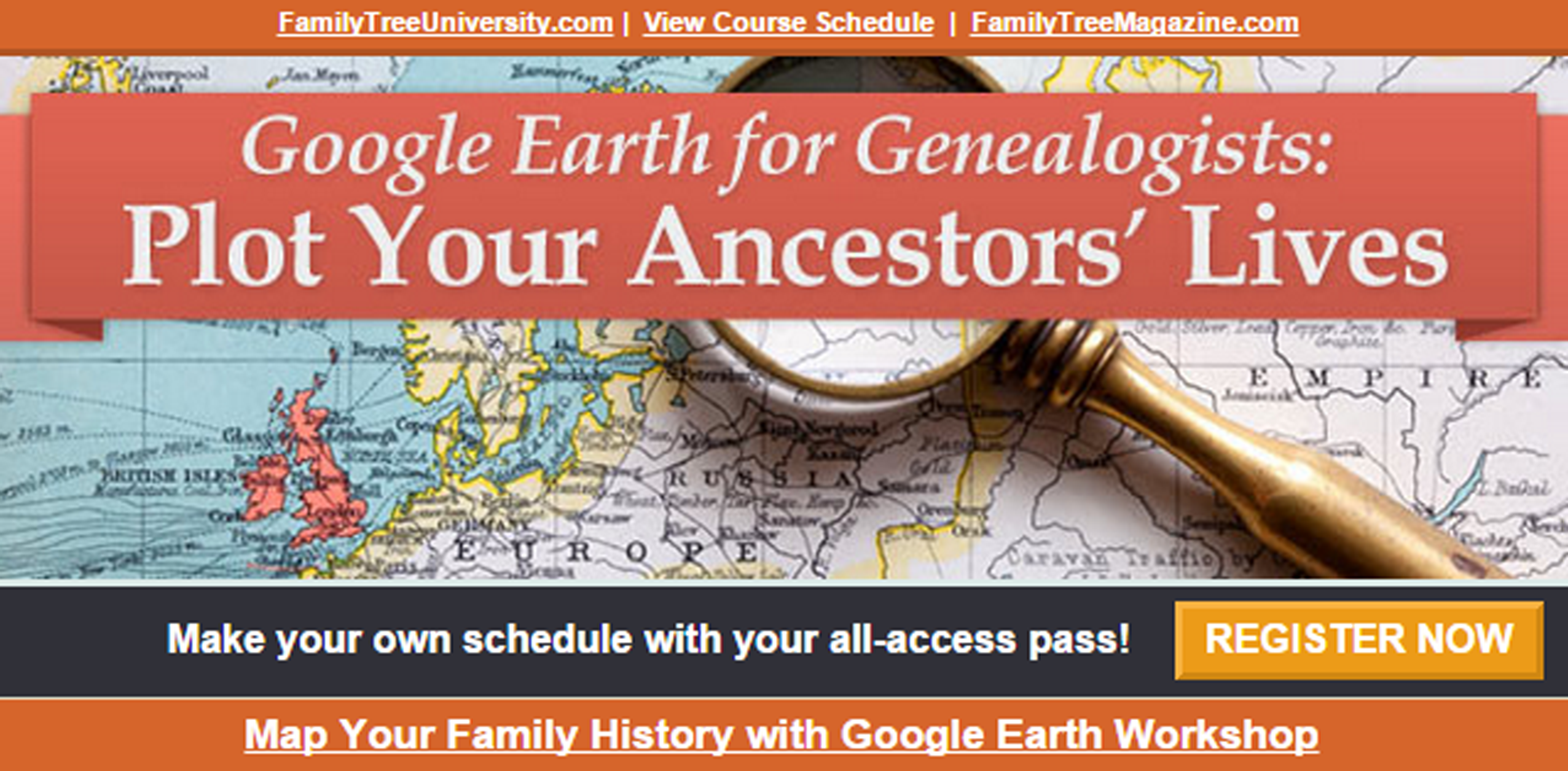 Google Earth for Genealogy: Get My Personalized Help