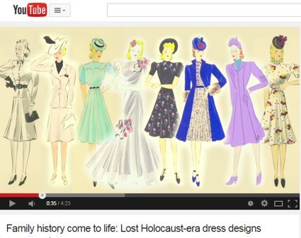 These 1939 Dress Designs Survived the Holocaust. Their Designer Didn't.