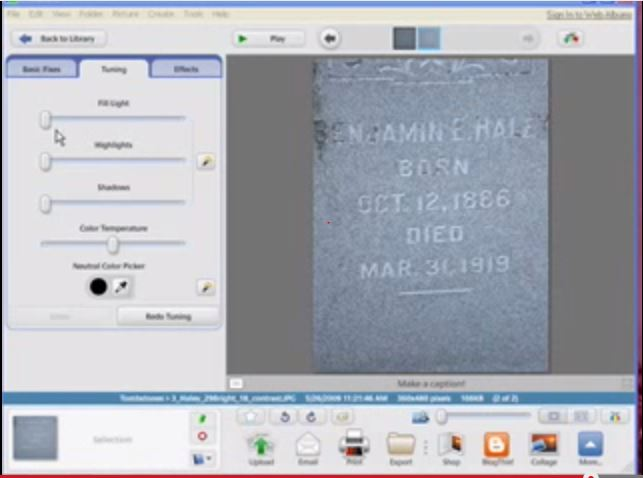 Free Video: How to Read a Faded Tombstone Without Damaging the Stone