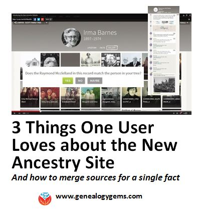 3 Things This Gems Follower Loves About the New Ancestry Site