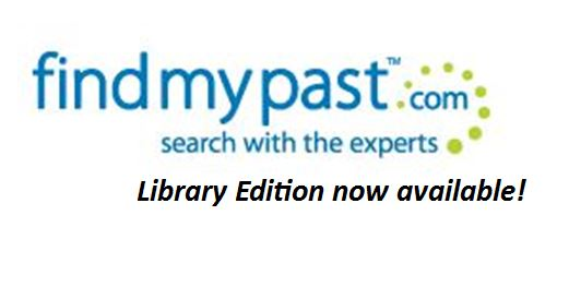 Findmypast Library Edition: Request it At Your Public Library!