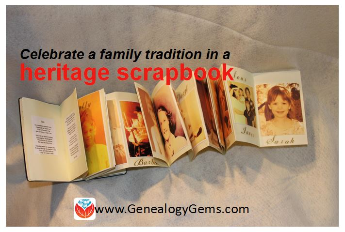 """My Name is Jane:"" Heritage Scrapbook Celebrates Family Tradition"