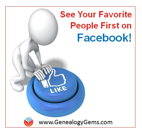 How to See Your Favorite People First on Facebook
