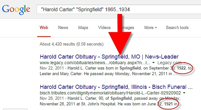 Google for Genealogy Search Strategies