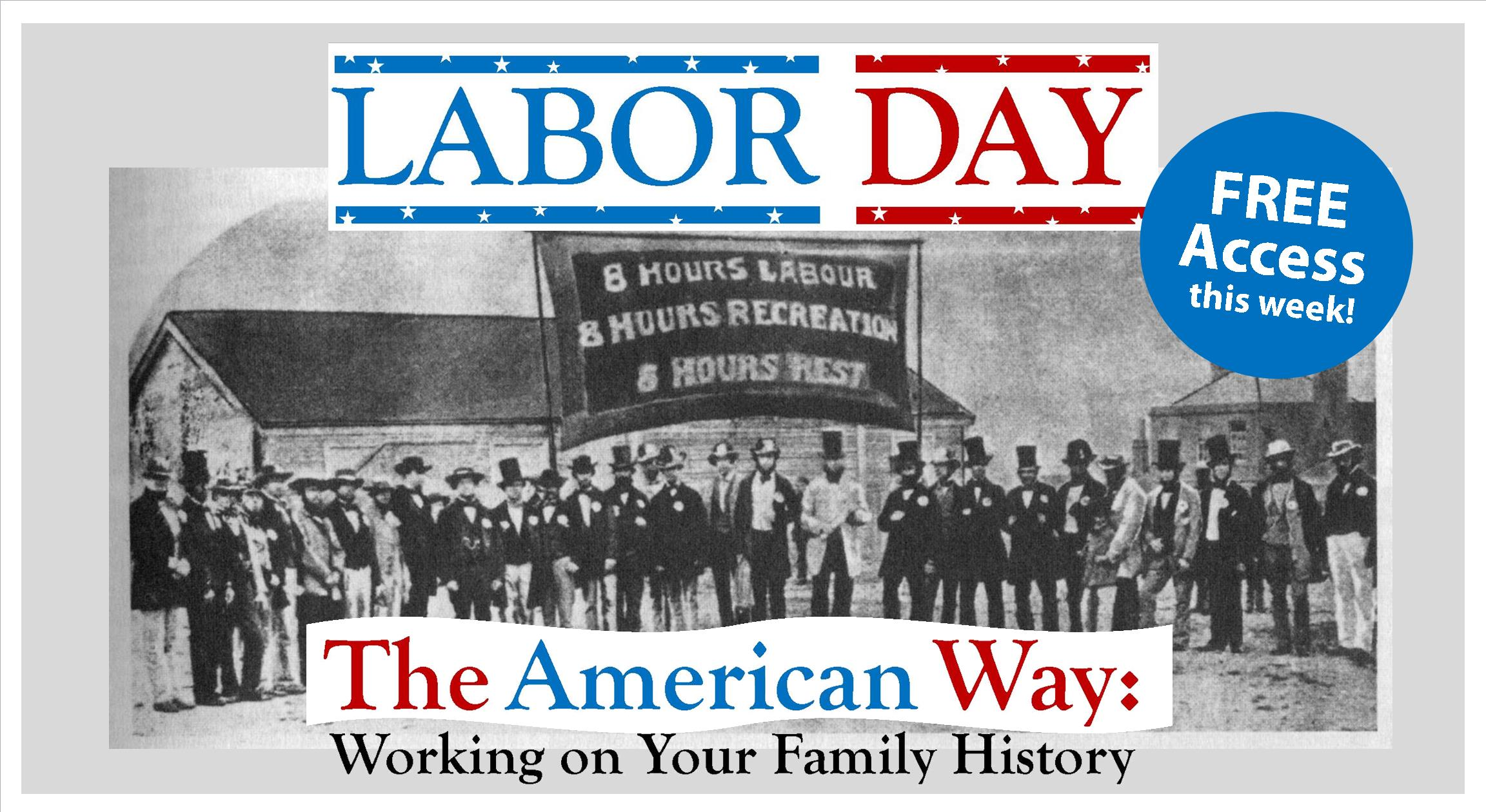 Labor Day - NEHGS - art for social media