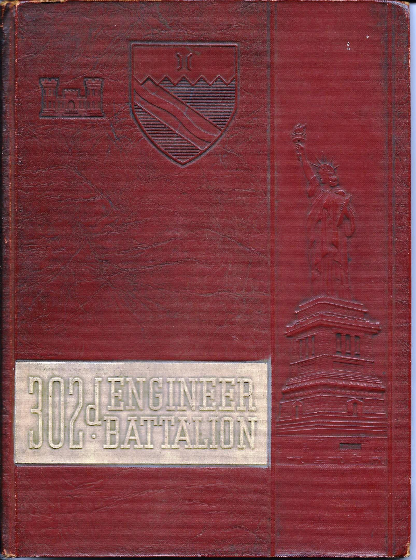 WWII yearbook cover