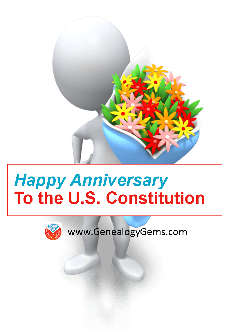 anniversary of the US Constitution Day