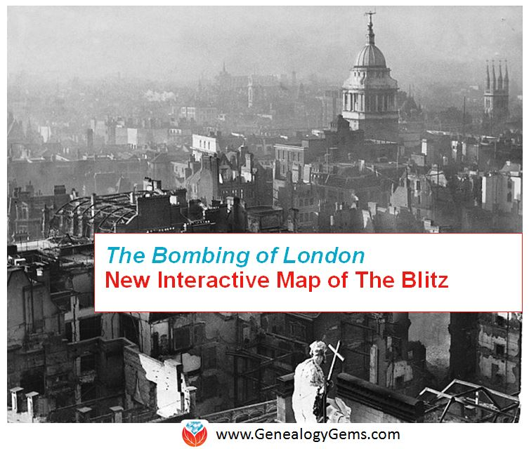 The Bombing of London in WWII: Check Out this Interactive Map of The Blitz