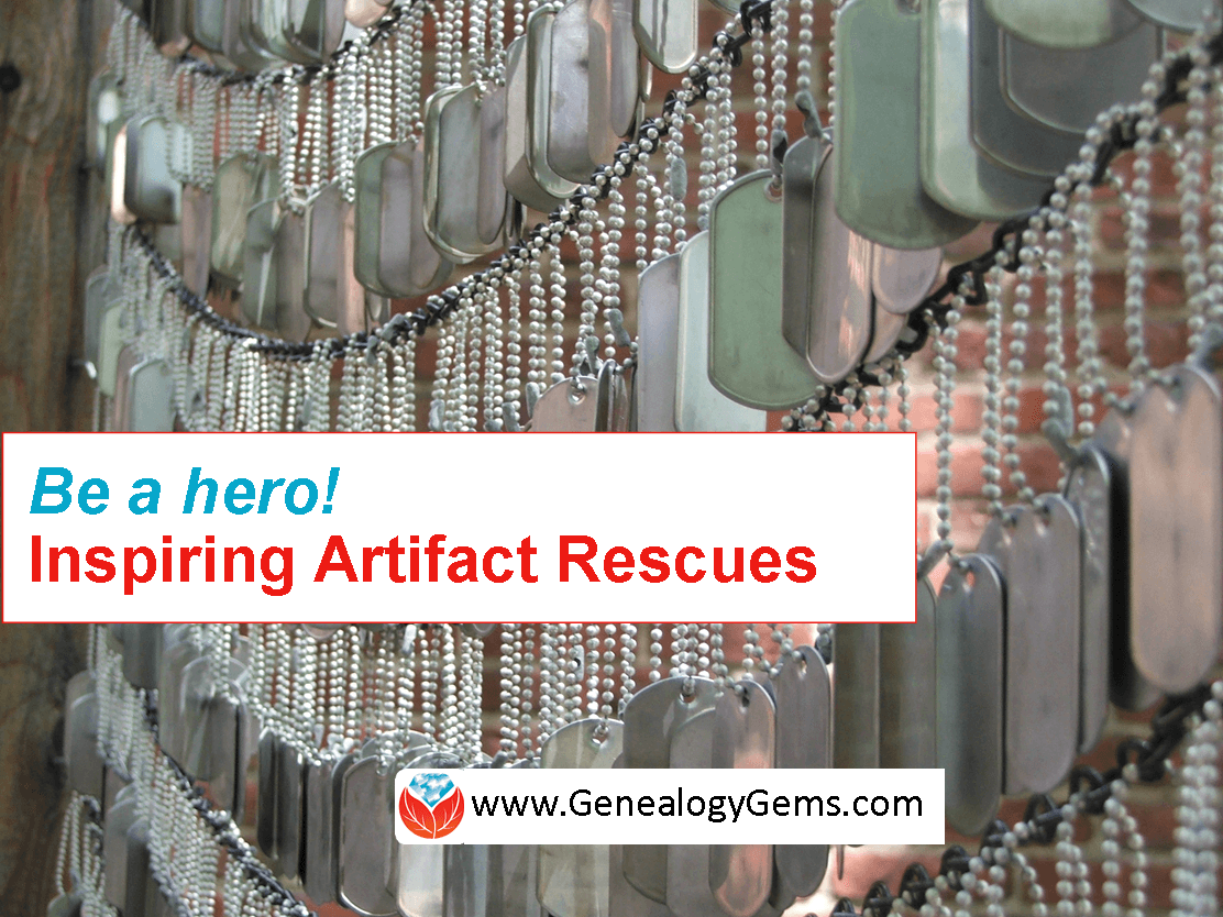 Be a Hero! 4 Ways to Rescue Military Memories and Artifacts