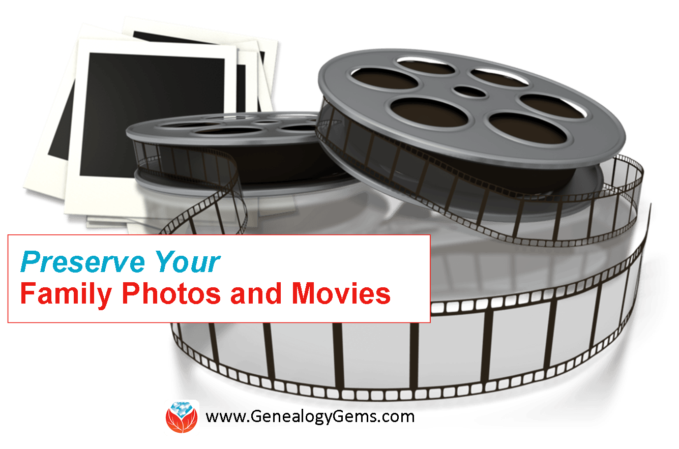 preserve family photos and movies