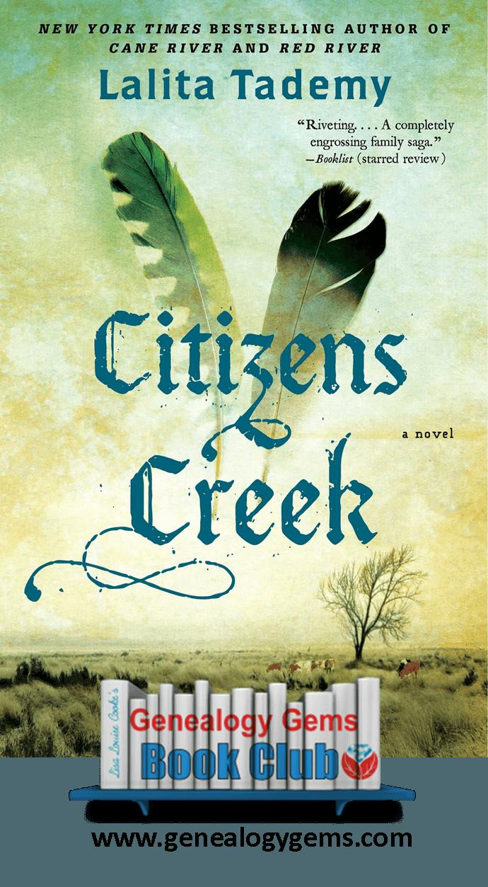 Citizens Creek: NEW Genealogy Gems Book Club Featured Title