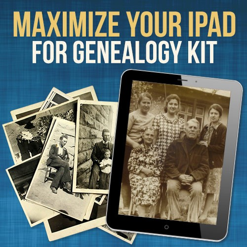 ipad for genealogy FTM kit