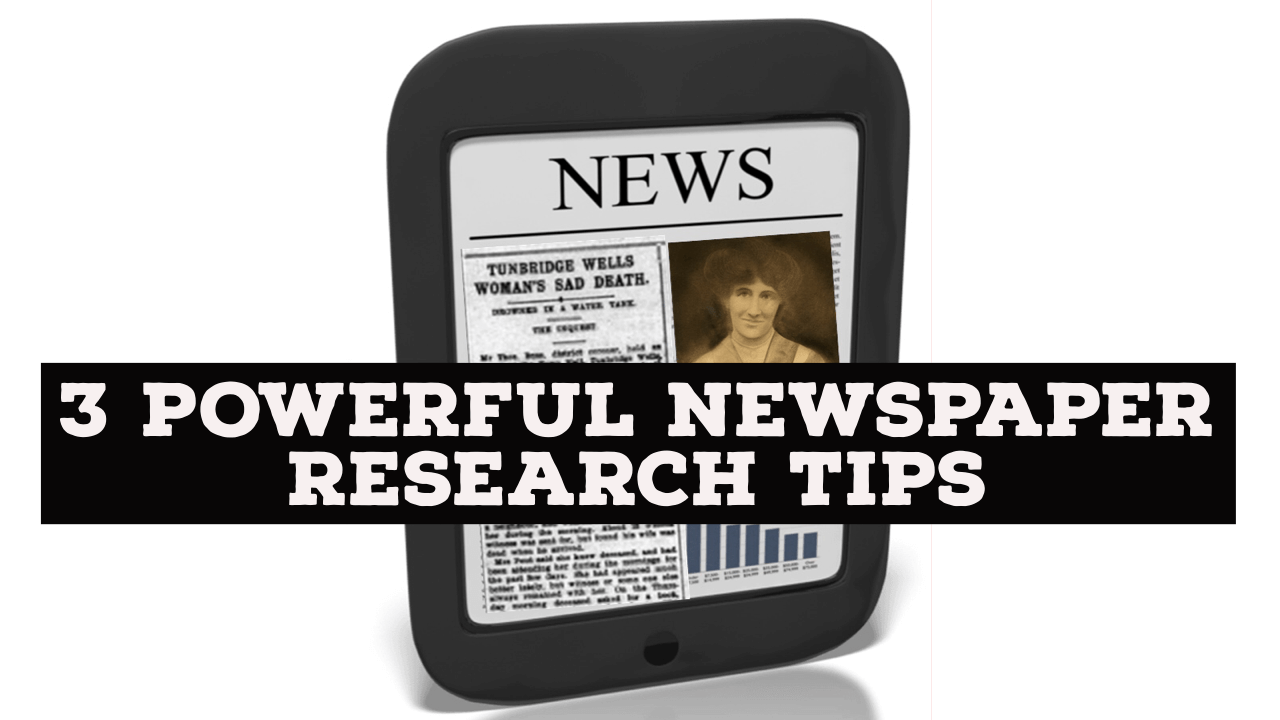 A Shocking Family Secret and 3 Powerful Newspaper Search Tips