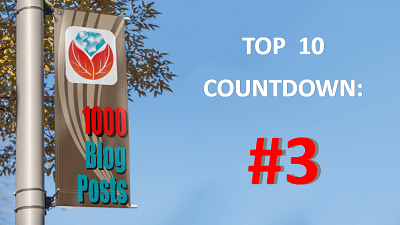 Celebrating 1000 Genealogy Blog Posts: #3 in the Top 10 Countdown