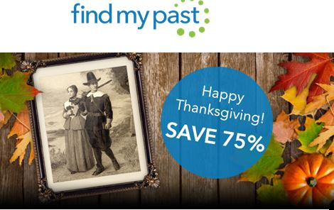 Here's how to get 75% off Findmypast Subscription through Nov. 30, 2015