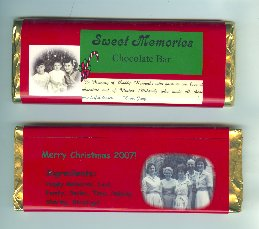 Judys stocking stuffer candy bar
