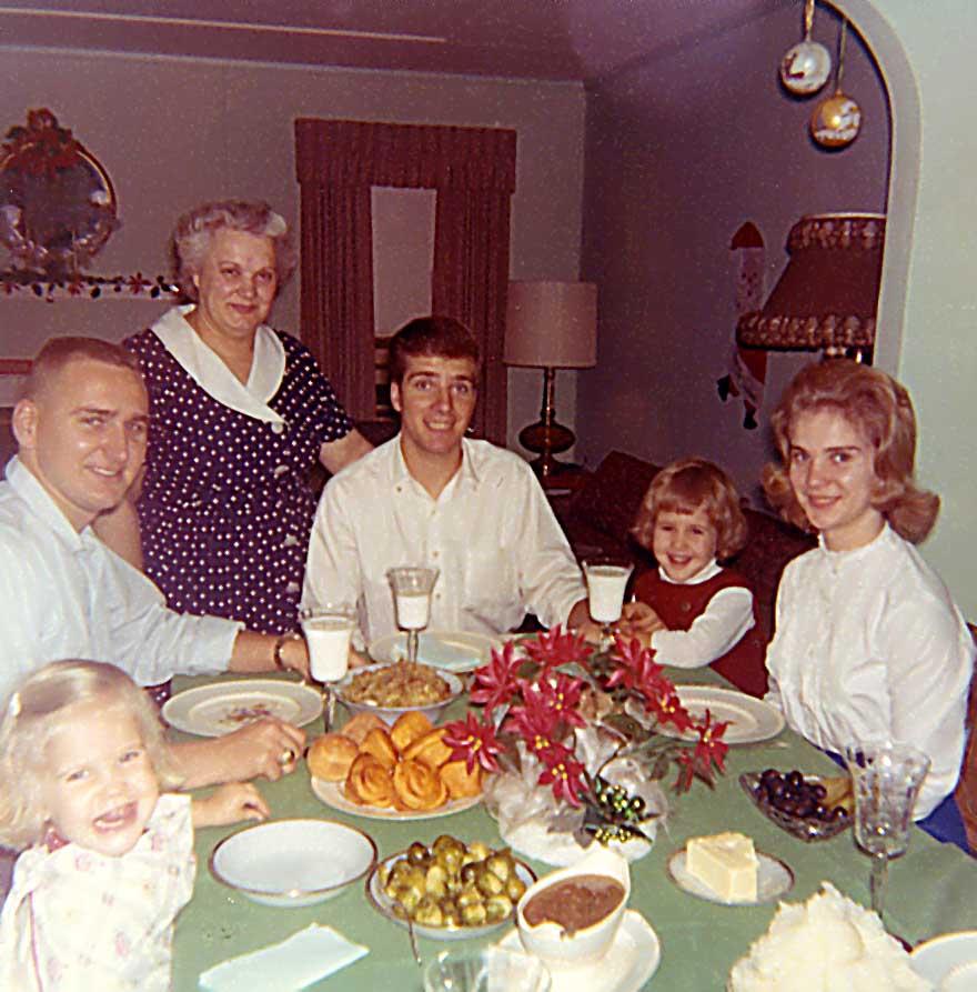 Christmas at Grandma's house 1964 - DIY stocking stuff ideas