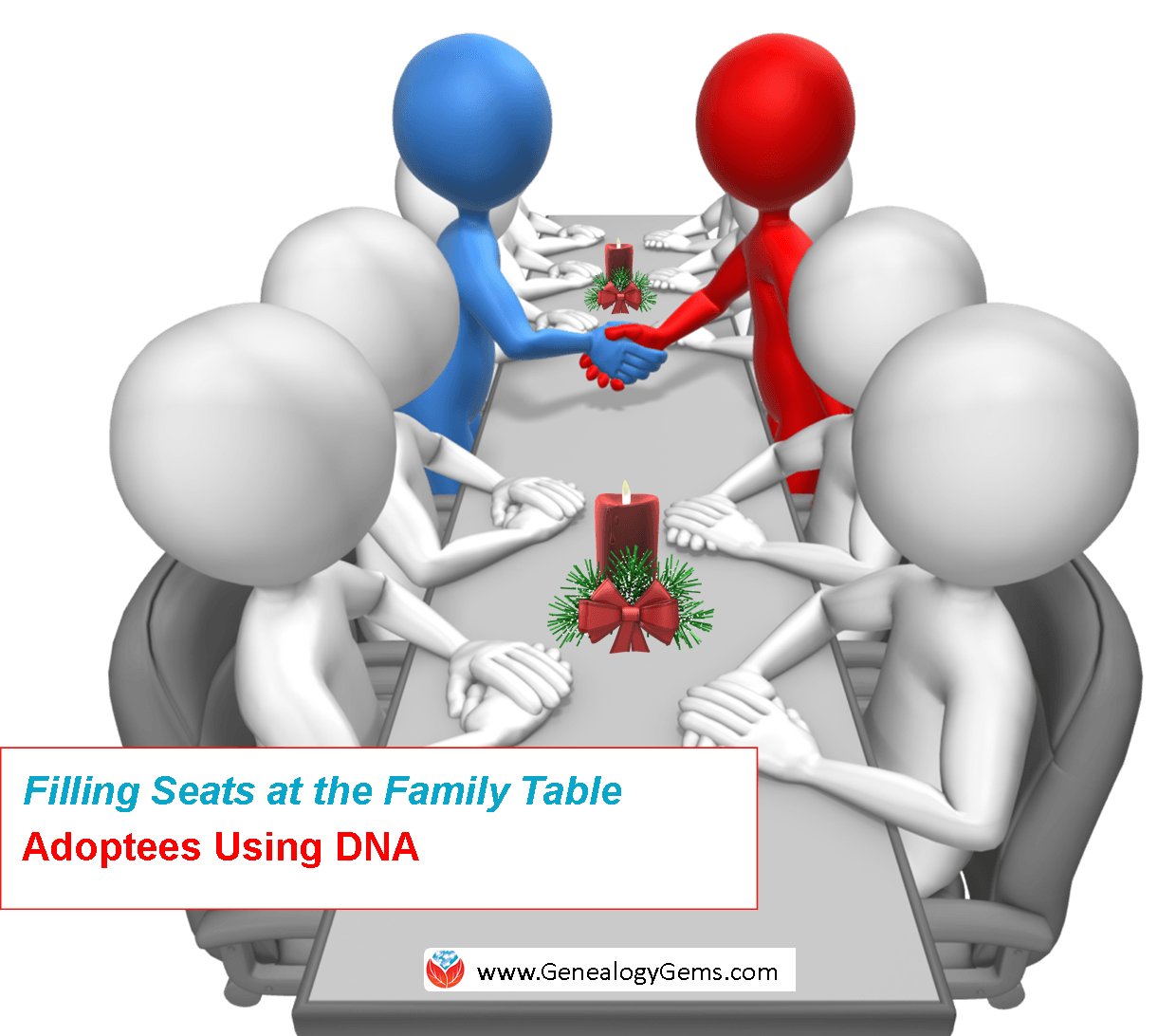 dna for adoption research holiday table