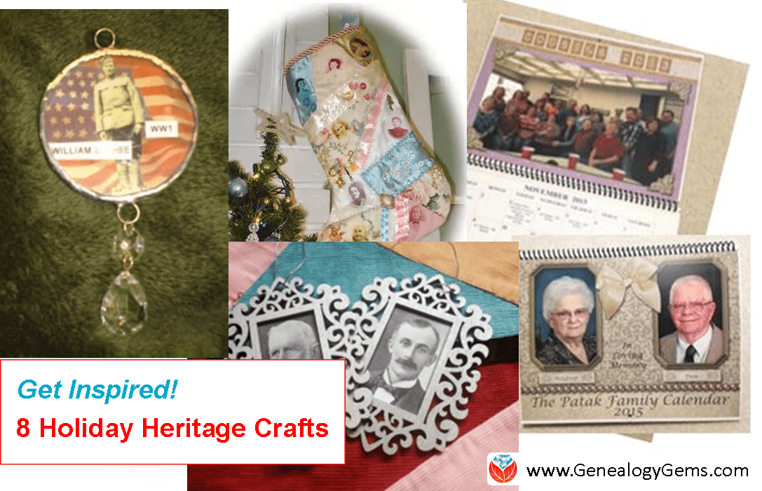 Get Inspired! 8 Last-Minute Holiday Heritage Craft Ideas
