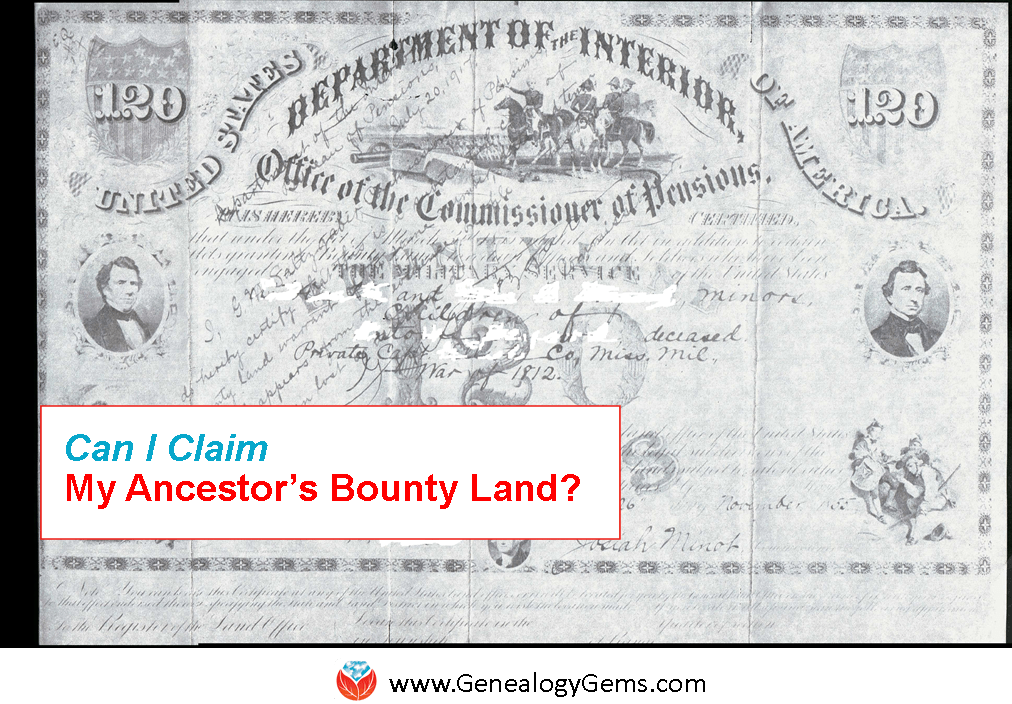Military Bounty Land: Can You Claim Your Ancestor's Share?