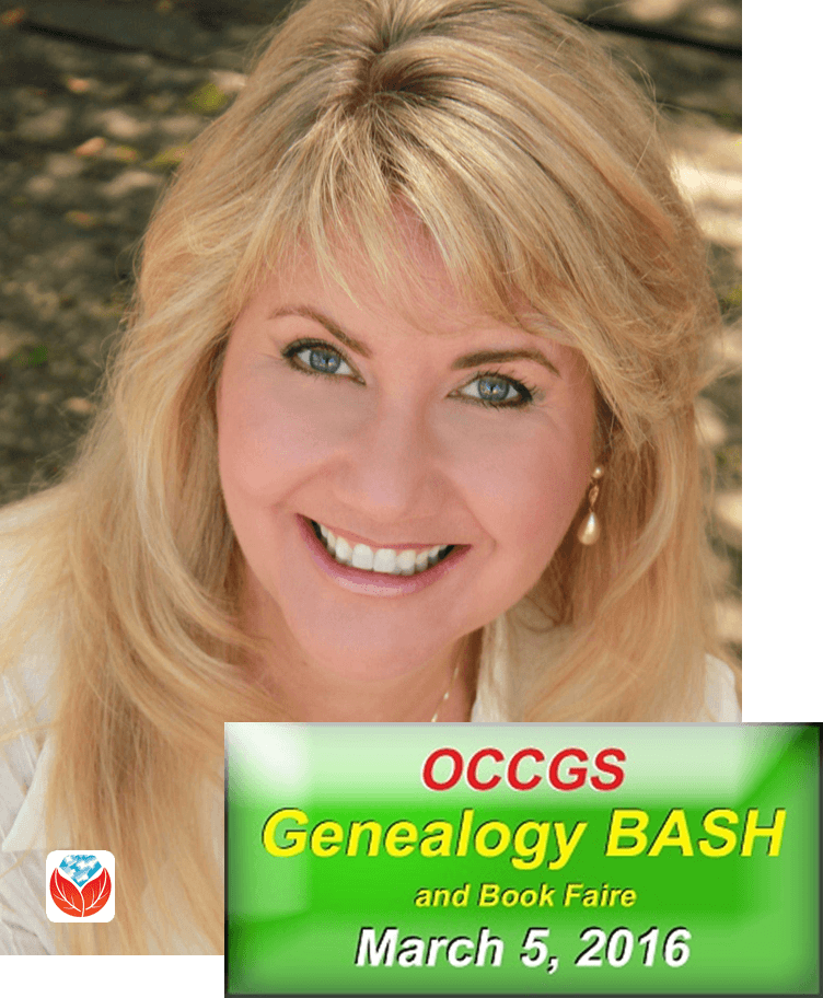 Lisa Louise Cooke Coming to CA: OCCGS Genealogy Bash