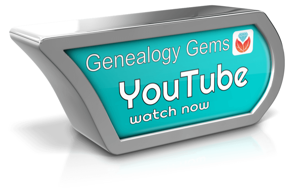 genealogy videos on YouTube