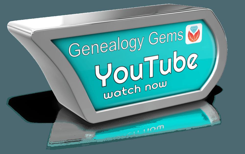 genealogy videos on YouTube