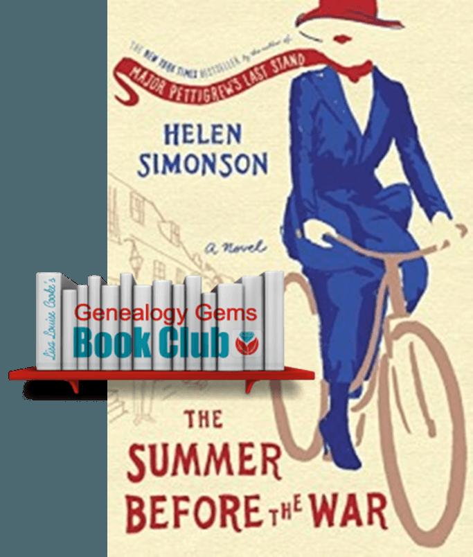 New Genealogy Book Club Pick: WWI-Era Novel by NYT Bestseller