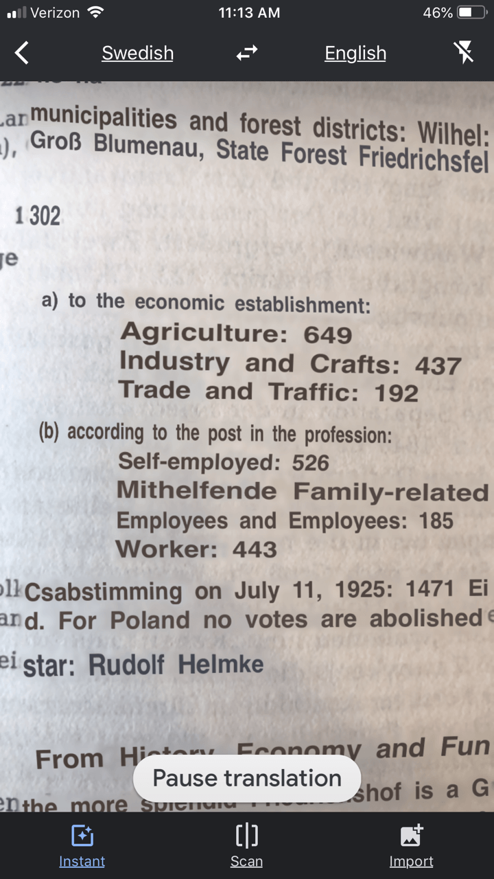 German reference book translated