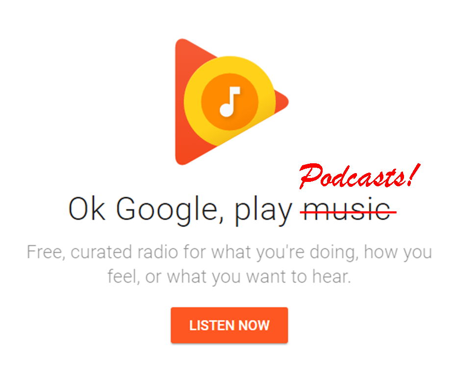How to Listen to a Podcast in Google Play Music
