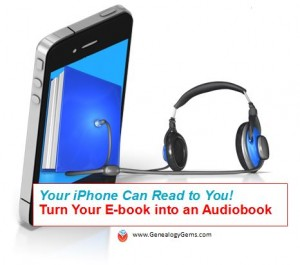 Turn a Kindle Ebook into an Audiobook on iPhone